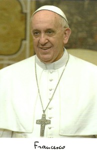 Pope Francesco August 2015