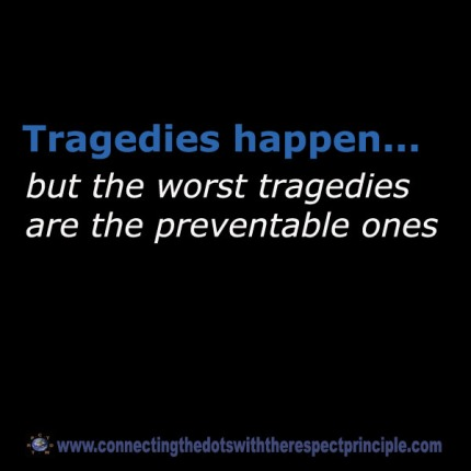 CTDWTRP Quote Block Black Tragedies happen .