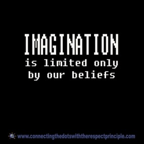 CTDWTRP Quote Block Black Imagination is limited only ..