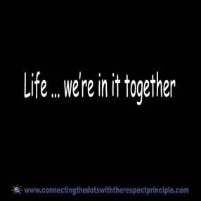 ctdwtrp quote block black life ... we're in it together